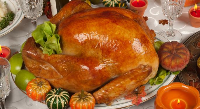 Four Thanksgiving Stocks Worth a Second Look