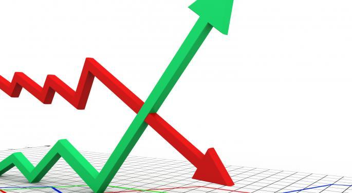 Mid-Day Market Update: Brinker Surges On Upbeat Earnings; AMD Shares Slip