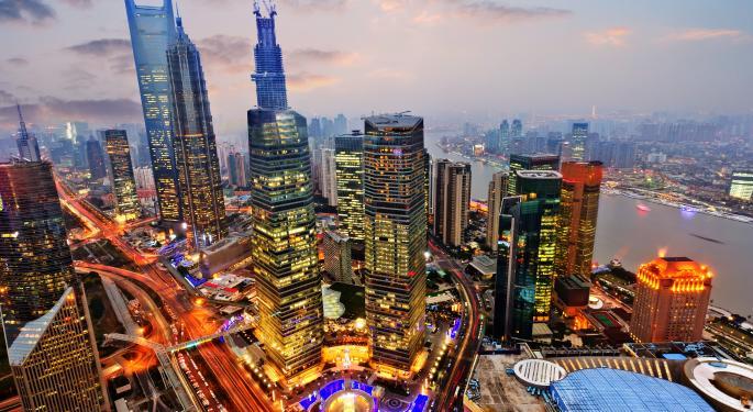 Bullish News from the Black Skies over Shanghai