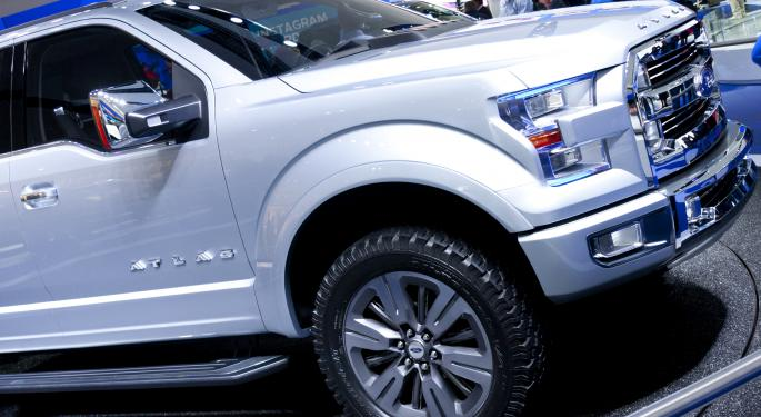 Ford Adding F-150 Fleet Of CNG Powered Vehicles F
