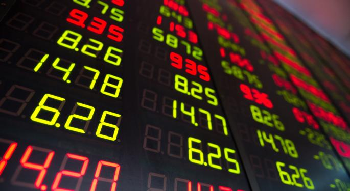Mid-Day Market Update: Dick's Sporting Slides After Weak Forecast; Aeroflex Shares Rise