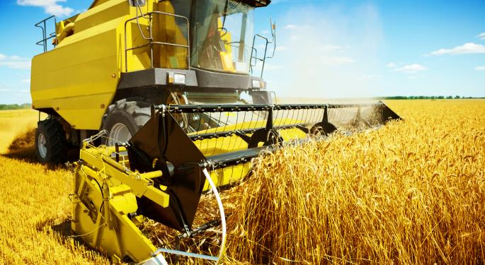 Agriculture ETPs Breaking Out JJA, WEAT, CORN, JO