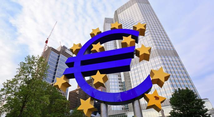 European Central Bank Slashes Growth Forecast, Says Financial Conditions Easing