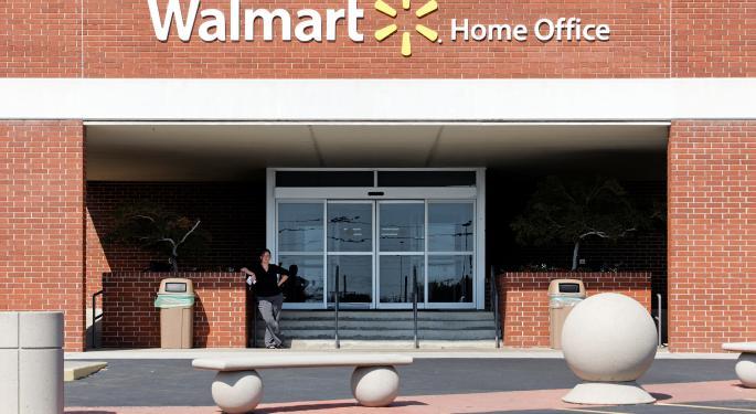 Wal-Mart Warns On Profits, Blames Winter Storms