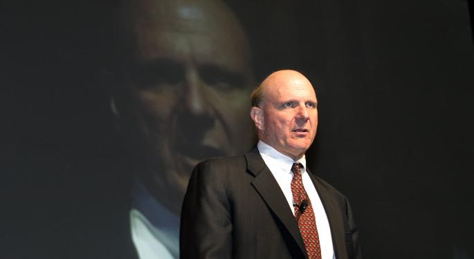 Microsoft Announces CEO Steve Ballmer To Retire Within 12 Months MSFT