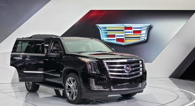 Detroit's Big Three Auto Makers Report March Sales