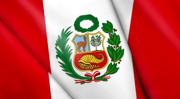 Peru ETF Flies Under the Radar to New Highs