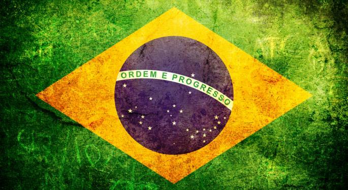 Brazil ETF Lagging...Again