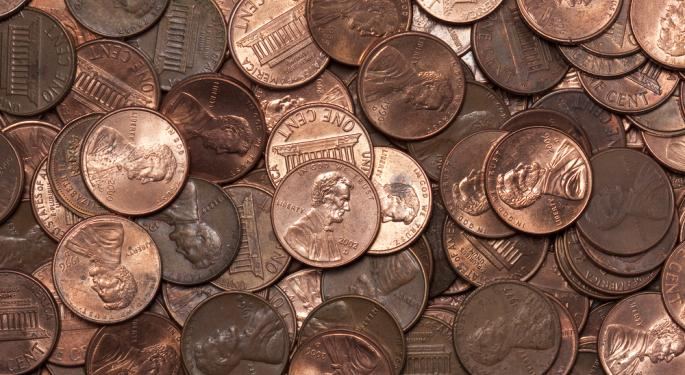 9 One-Time Penny Stocks Didn't Stay That Way