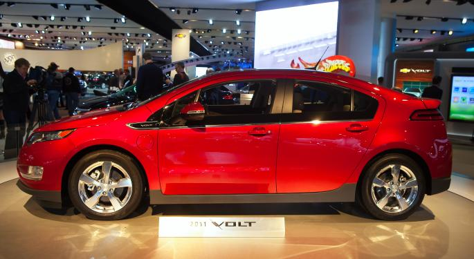 General Motors Offering Huge Incentives on Chevy Volt GM