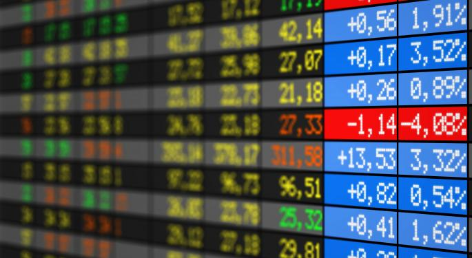 Mid-Afternoon Market Update: Markets in the Red as American Airlines/US Airways Merger Approved