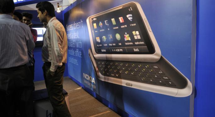 Nokia Jumps 18% on Positive Estimates