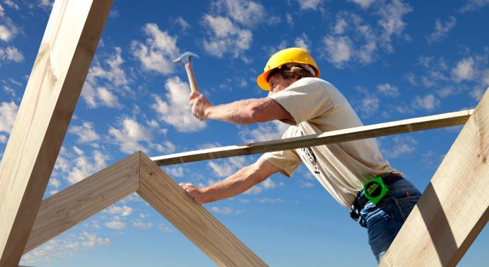 Cautious Analyst Note from Barclays & New Sales Data Drag Homebuilders Lower