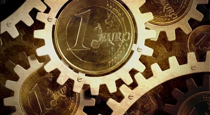 Euro Approaches 2013 High