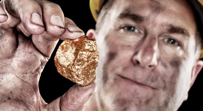 Short Interest Rises in Gold Mining Stocks