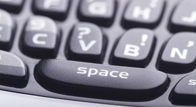 BlackBerry Announces Company Seeking Strategic Alternatives; Shares up Roughly 7.5%
