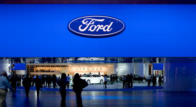 Ford Hits Record Annual Sales Figures in China