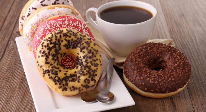 Coffee and Doughnuts on a Run