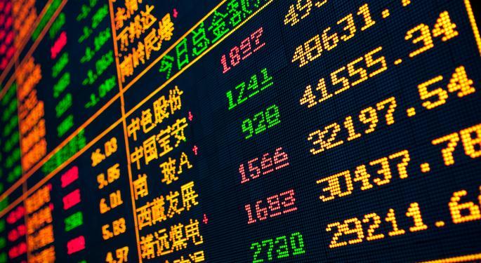 Mid-Day Market Update: Akorn Shares Slip After Downbeat Outlook; Dendreon Gains