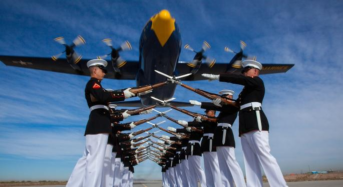 The Marines And Navy To Test Emerging Technologies in April; Can Defense Suppliers Make Windfall?