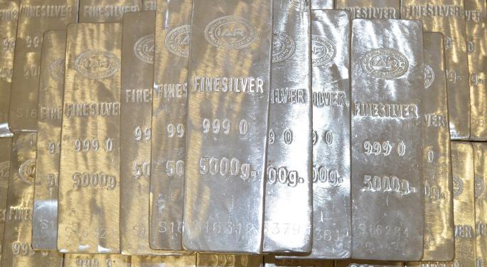 Silver Shines Among 2016's Best ETFs