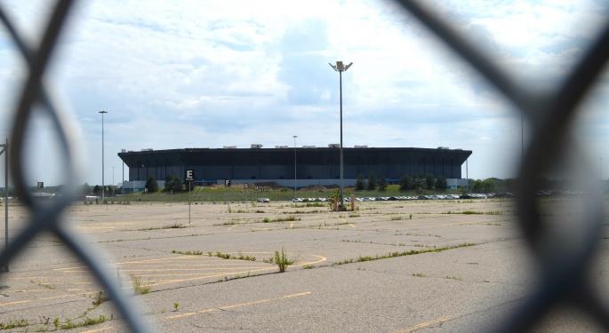 The Silverdome, Detroit Lions' Former Home Turf And 'World's Biggest Birdbath,' Is On Stadium Death Row