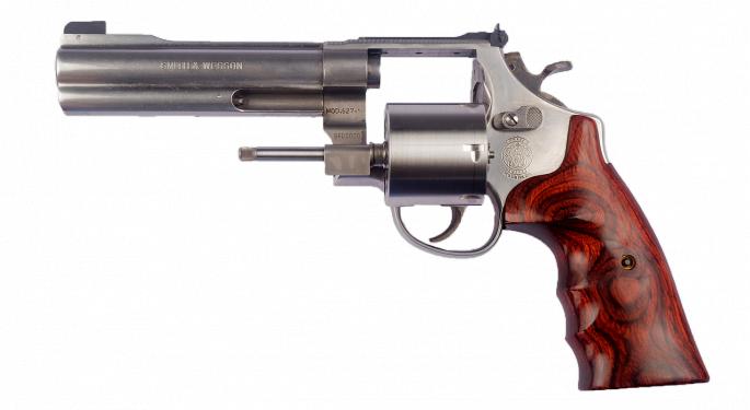 Gun Stocks Backfire On Weak FBI Firearm Background Check Data