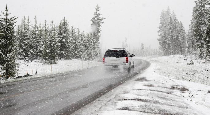 Winter Storms Slamming The High Plains