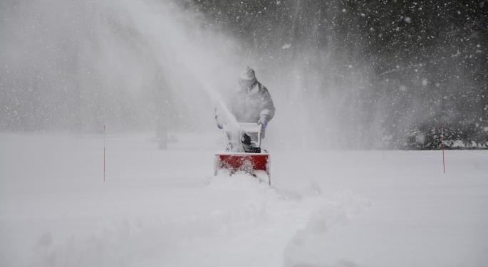 Southern Snowfall Possible In Several States