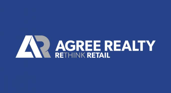 Agree Realty Posts Q1 Earnings Beat, Raises Full-Year Acquisition Guidance To $1.1B-$1.3B