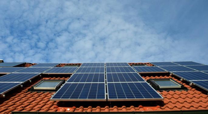 Why Is First Solar's Stock Trading Lower Today?