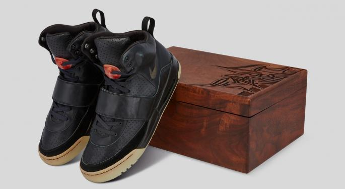 Bored Of NFTs? How About Buying Kanye West's Sneakers For $1M?