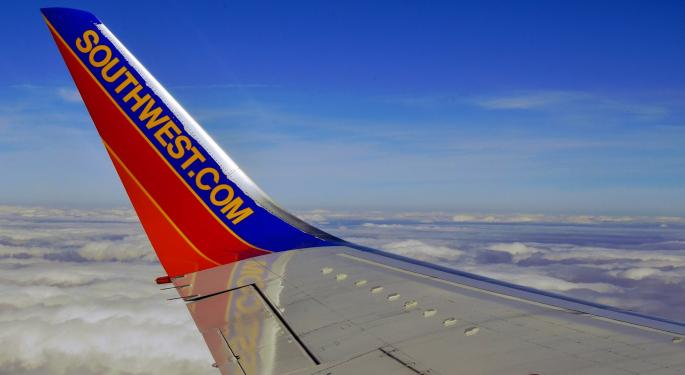 Here's How Much Investing $1,000 In Southwest Airlines Stock Back In 2010 Would Be Worth Today