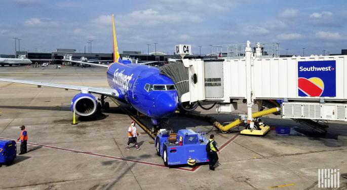 Southwest Airlines Records $1.2B Q3 Loss