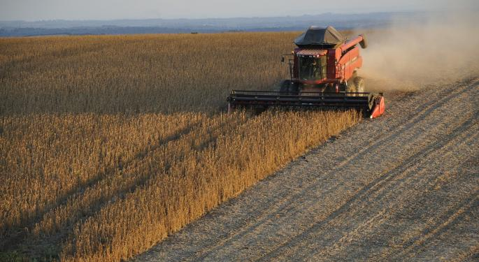 The Trade War And A Changing Market For Soybeans
