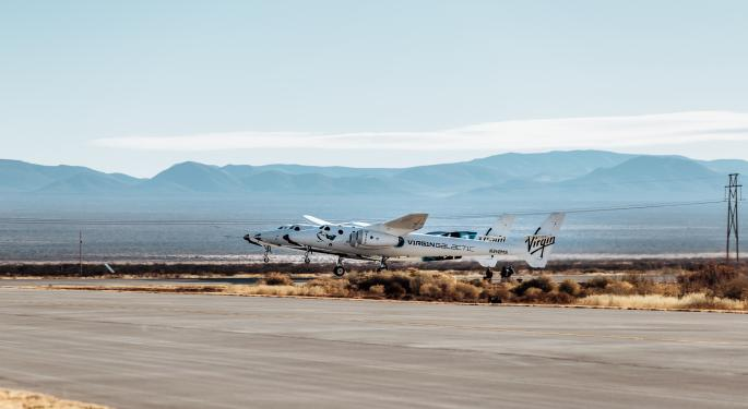 UBS Downgrades Virgin Galactic, Stock Loses Altitude