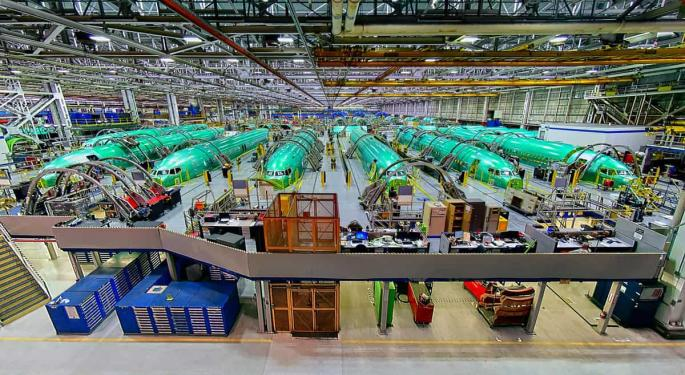 Boeing Tells 737 MAX Fuselage Maker To Pause Production