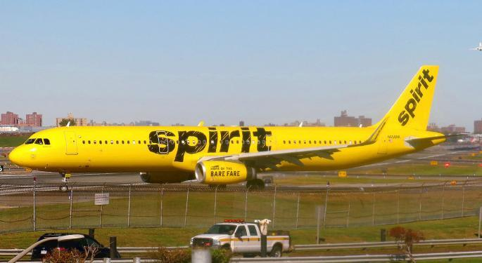 Here's How Much Investing $1,000 In The 2011 Spirit Airlines IPO Would Be Worth Today