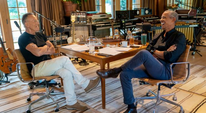 Barack Obama, Bruce Springsteen Launch Spotify Podcast Series