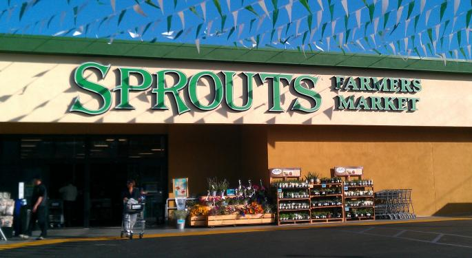 Sprouts Farmers Up 15% After Dipping On Amazon-Whole Foods News; A 'Pristine' Q2 Will Keep Them There