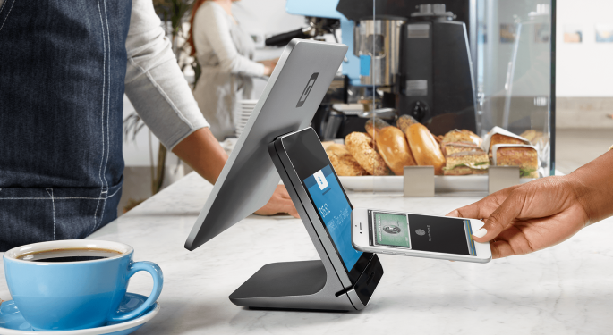 Why Square's Stock Is Trading Lower Today