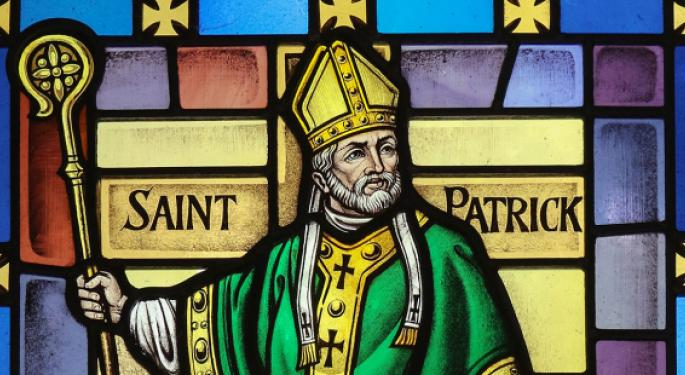 5 Irish Stocks To Buy For St. Patrick's Day