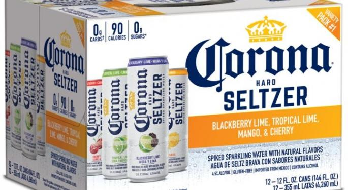 Constellation Brands CEO: 'We're Going To Take A Significant Share' Of Seltzer Market