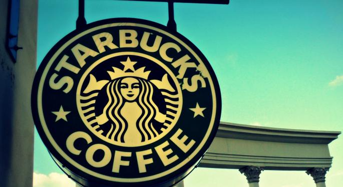 Starbucks Shares Tick Lower On Slow Growth Reports