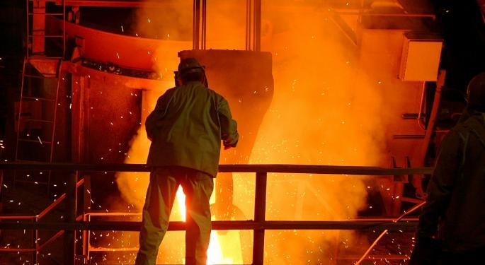 Why Are Shares Of US Steel Trading Higher Today?