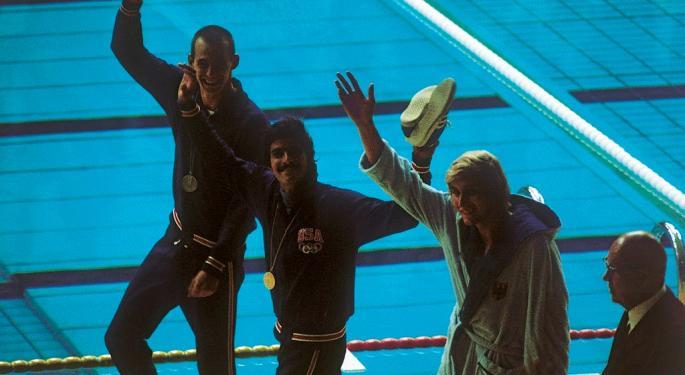 Money Makes Medals: Spitz Vs. Phelps