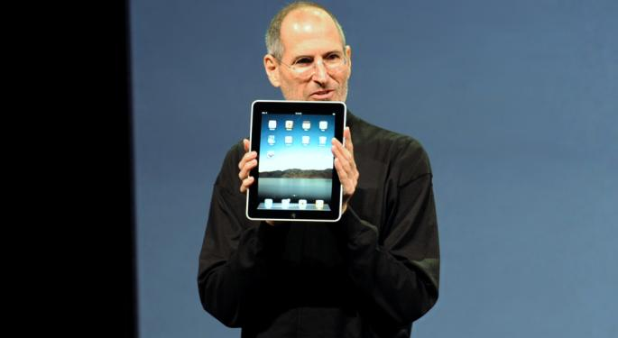 This Day In Market History: Apple Unveils Original iPad