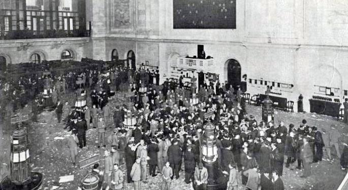 This Day In Market History: NYSE Shuts Down For 11 Days In 1933