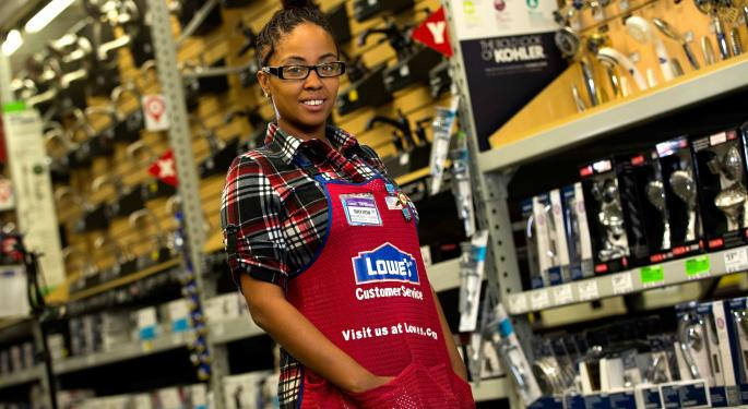 Lowe's Has Self-Help Comeback, Boosts Hopes For Rest Of The Year