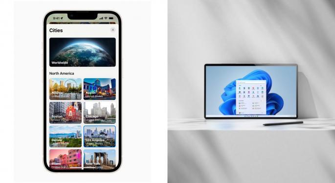¿Es momento de comprar la caída de Apple y Microsoft?